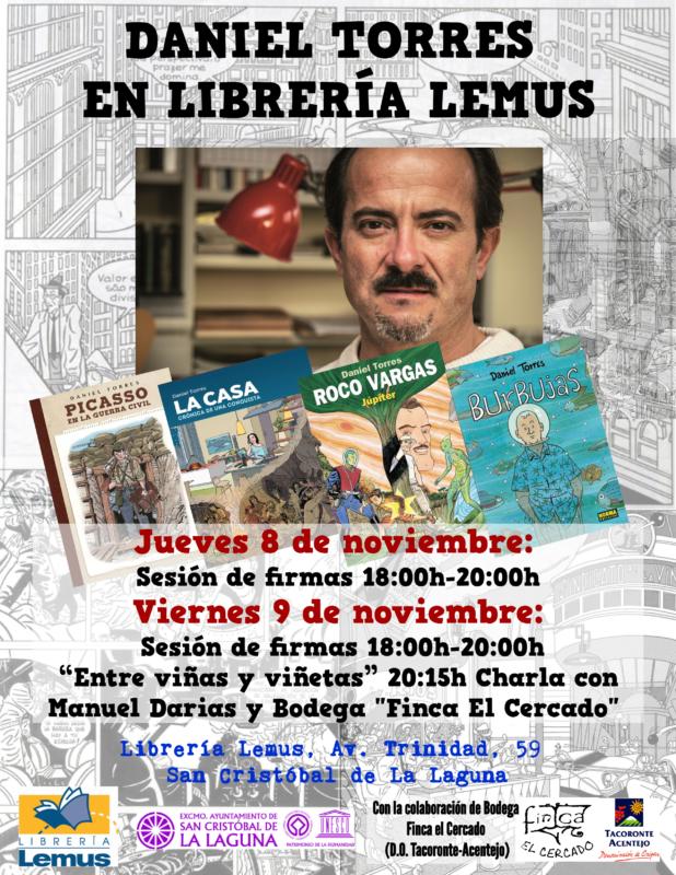 Librería Lemus, San Cristobal de La Laguna - 8 y 9 de noviembre de 2018