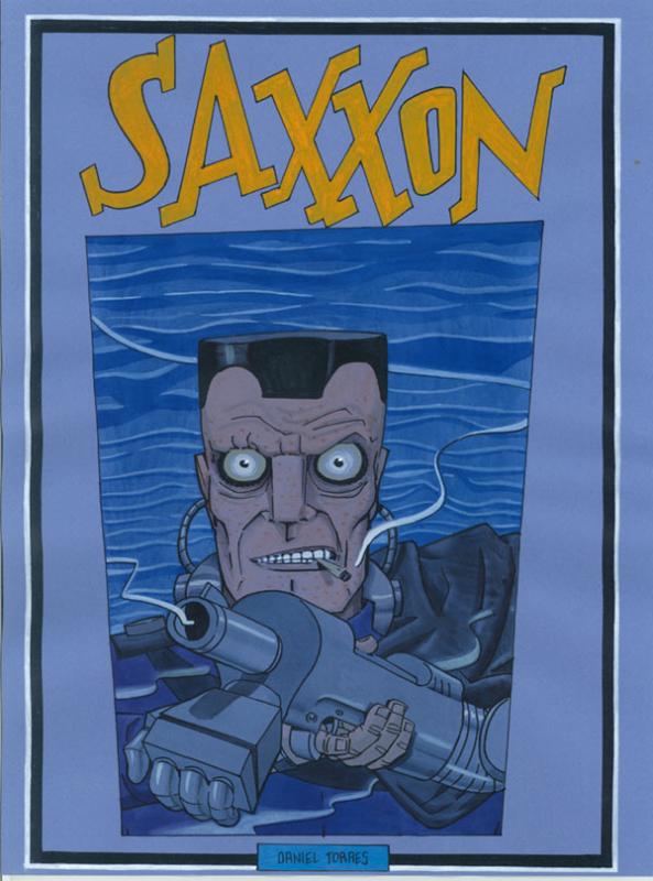 boceto SAXXON