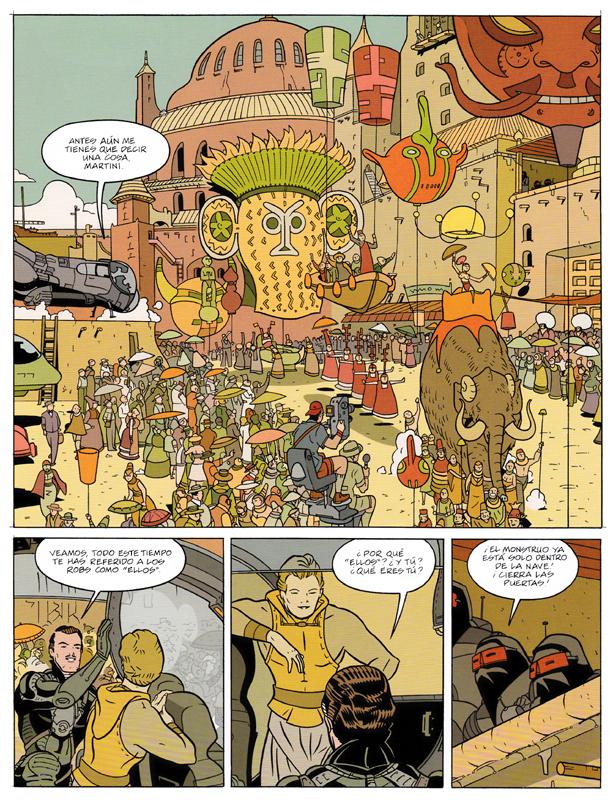 Paseando con Monstruos, página 50