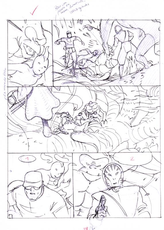 Bocetos, páginas 30