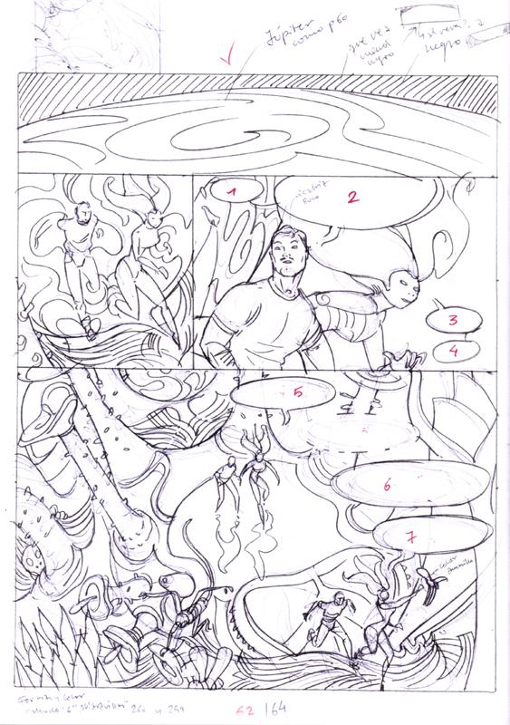Bocetos, páginas 64