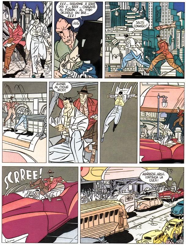 El misterio de Susurro. Página 16