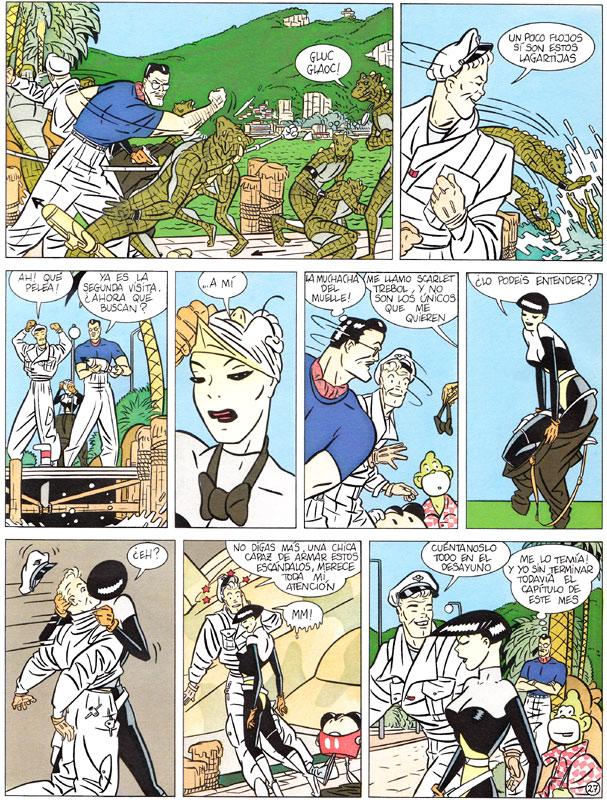 El misterio de Susurro. Página 27