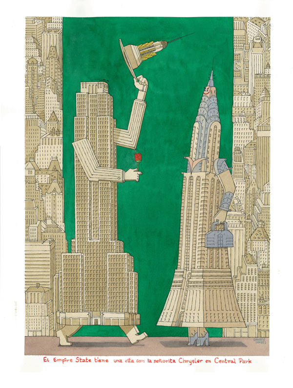 El Empire State tiene una una cita con la señorita Chrysler en Central Park