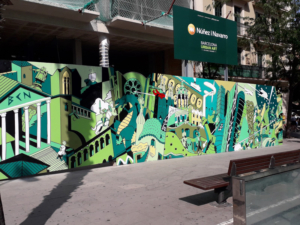 mural Nuñez y Navarro - Urban Art