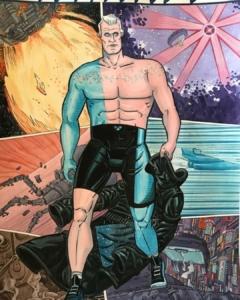 Homenaje a Roy de Blade Runner